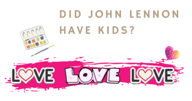 Did John Lennon have kids