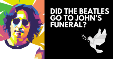 Did the Beatles go to Johns funeral