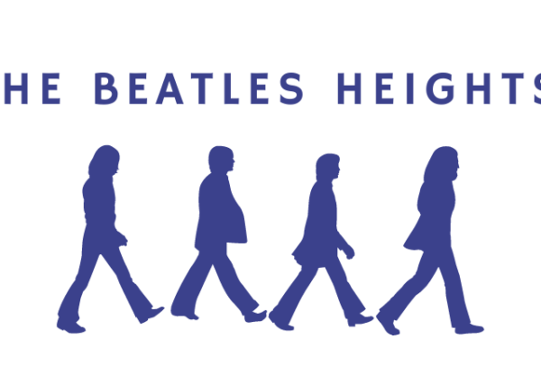 The Beatles heights