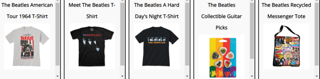 Beatles collectibles and memorabilia recommendations