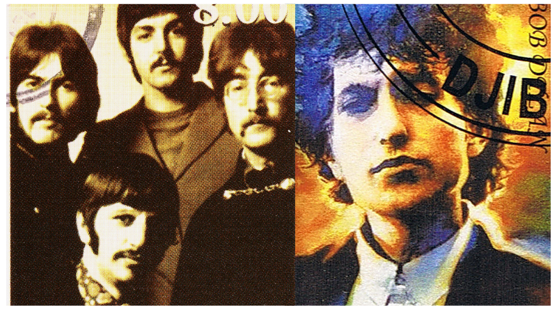 The Beatles and Bob Dylan